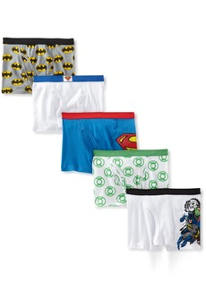 Handcraft Little Boys' Justice League 5pk Boxer Briefs