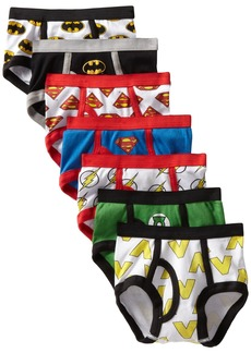 DC Comics Handcraft Little Boys' Justice League Logo Brief (Pack of 7)
