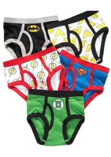 Dc Comics Justice League 5-Pk. Cotton Briefs, Little Boys & Big Boys
