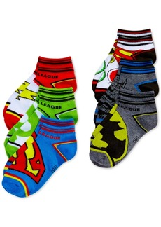 DC Justice League Sock Set, 6-Pk, Little Boys & Big Boys