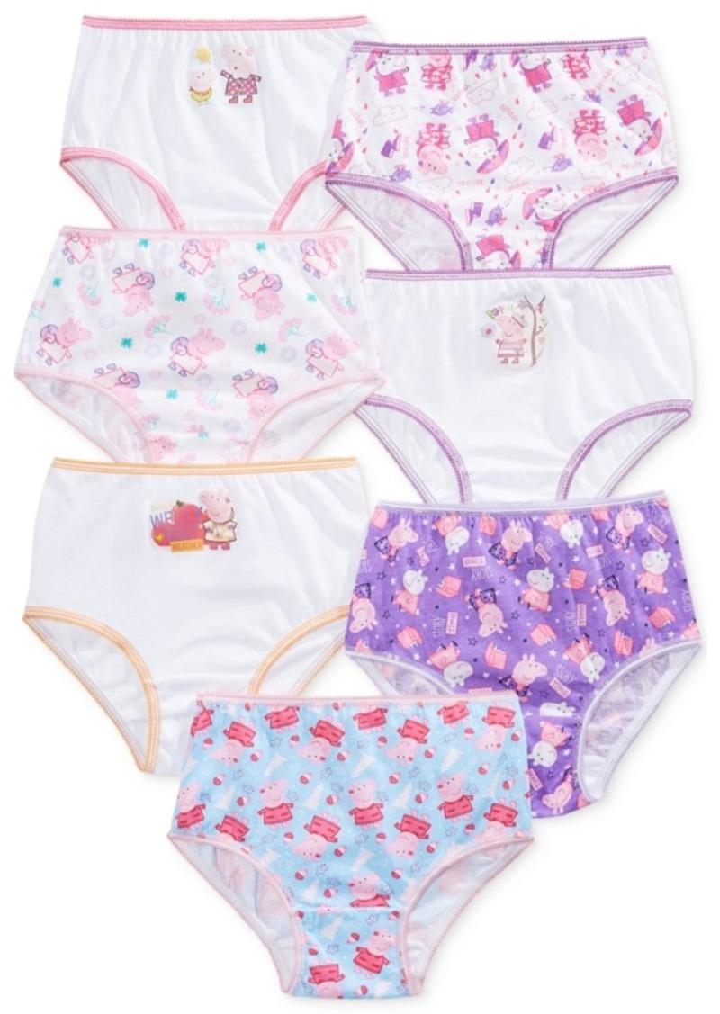 Disney Nickelodeon's Peppa Pig Underwear, 7-Pack, Toddler Girls