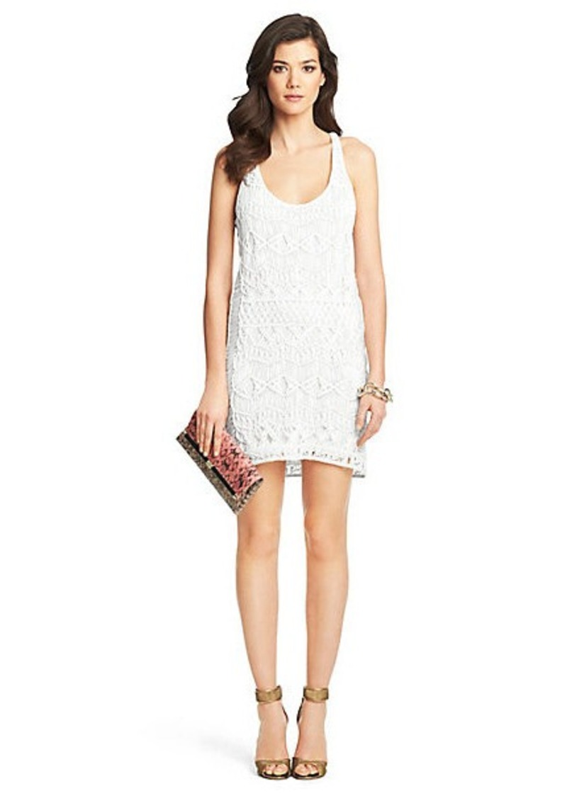 Diane Von Furstenberg Chios Crochet Dress