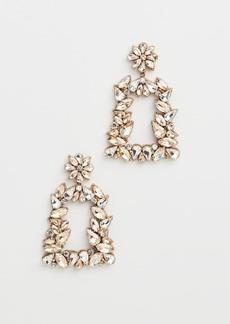 Deepa Gurnani Deepa by Deepa Gurnani Gold Crystal Earrings