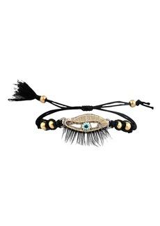 Women's Deepa Gurnani Brooklynn Eye Charm Bracelet