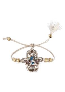 Women's Deepa Gurnani Fei Hamsa Bracelet