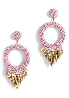 Women's Deepa Gurnani Franka Beaded Fringe Drop Earrings