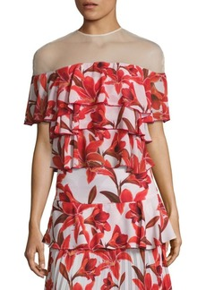 Delfi Collective Ivy Illusion Tiered Top