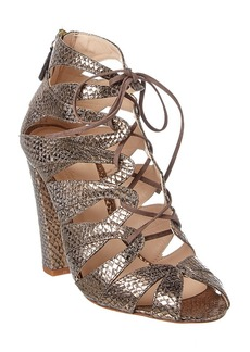Delman Delman Darci Leather Sandal