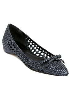 Delman Delman Shana Leather Flat