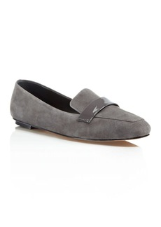 Delman Fab Suede Smoking Slippers