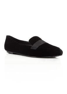 Delman Fab Velvet Loafers