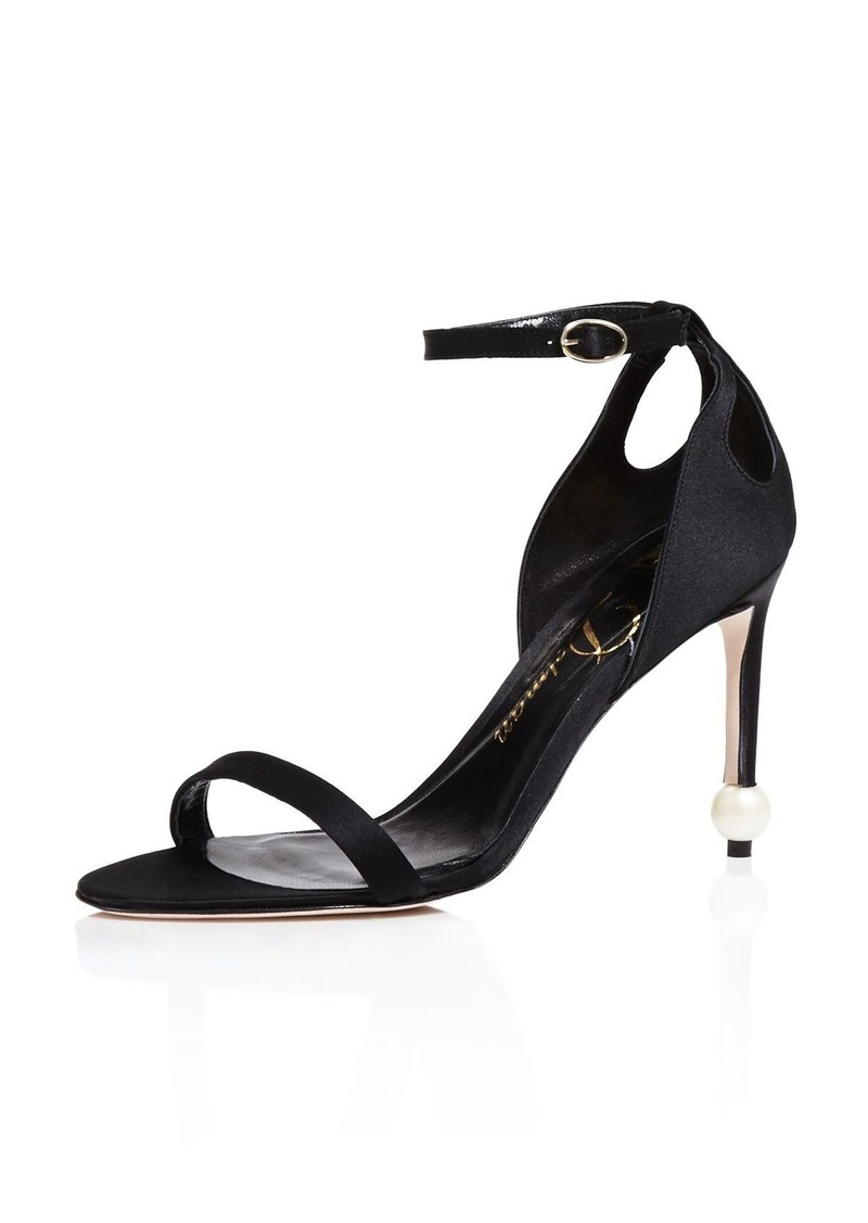 Delman Jemm Ankle Strap High Heel Sandals
