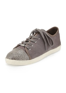 Magie Low-Top Suede Sneaker