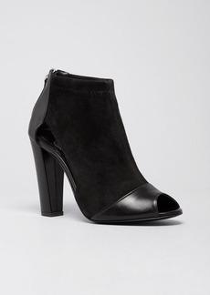 Delman Peep Toe Booties - Drea High Heel