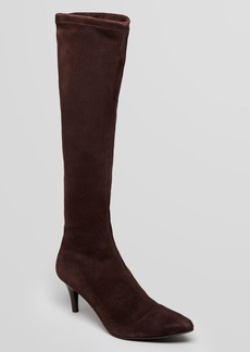 Delman Pointed Toe Boots - Lilia
