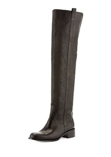 Delman Sofie Over-the-Knee Leather Boot