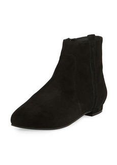 Delman WILEY FLAT SUEDE ANKLE BOOTI