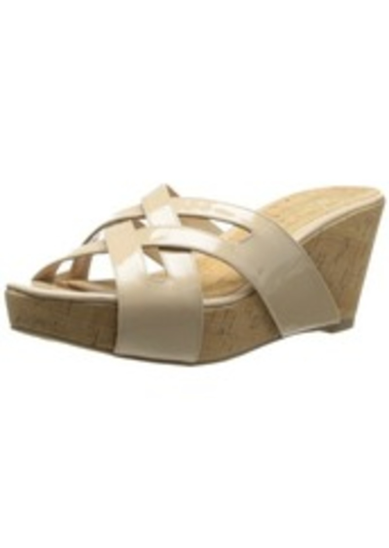 Delman Women's Carla Wedge Sandal