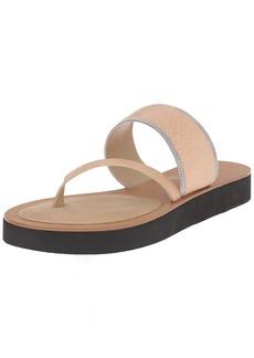 Delman Women's D-UNA-V Slide Sandal   M US