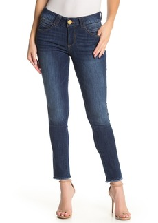 Democracy AB Tech Frayed Crop Jeans