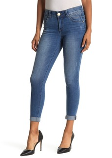 Democracy Ab Technology Cuffed Ankle Skinny Jeans