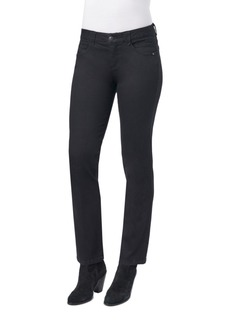 Democracy Ab Solution Mid Rise Straight Leg Jeans