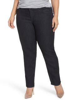Democracy Ab-Solution Stretch Straight Leg Jeans (Plus Size)
