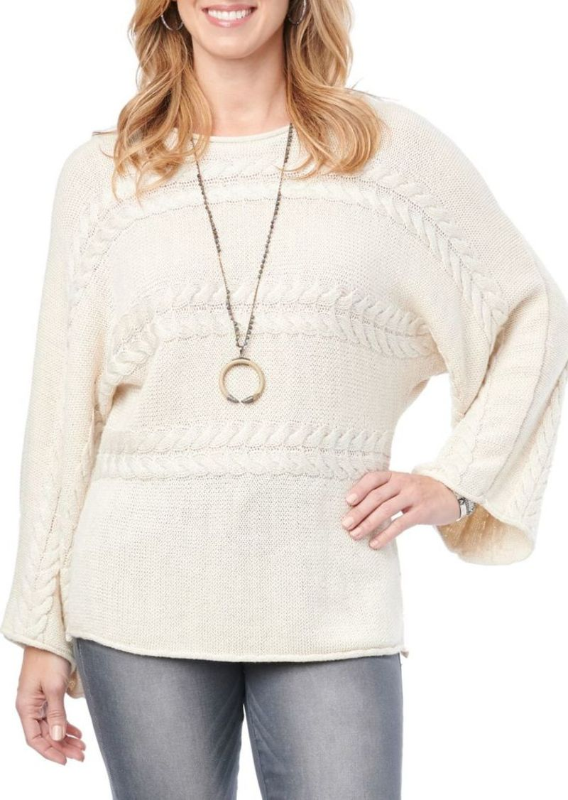 Democracy Cable Knit Dolman Sweater