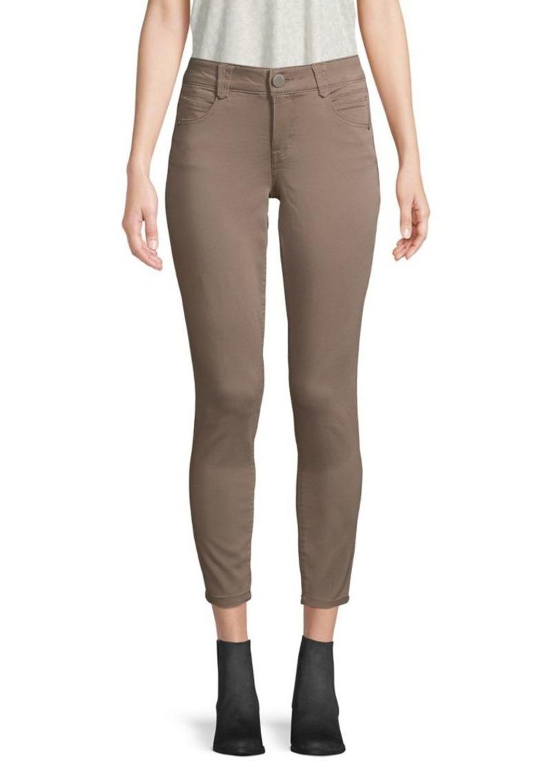 Democracy Cotton-Blend Skinny Pants