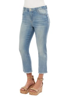 Democracy Distressed Cropped Jeans