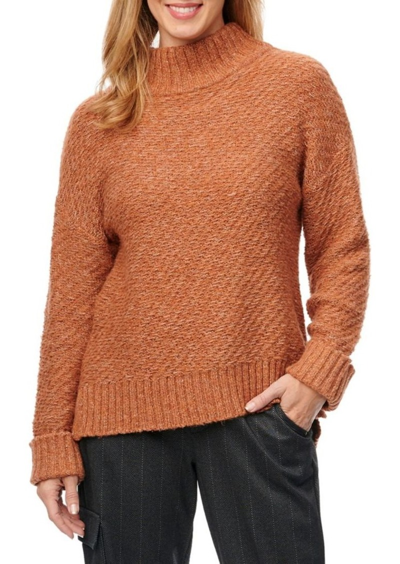 Democracy Hi-Lo Textured Sweater