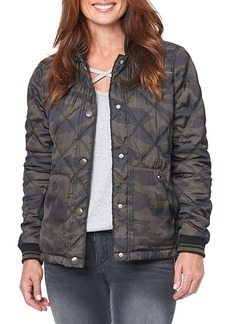 Democracy Quilted Camouflage Jacket