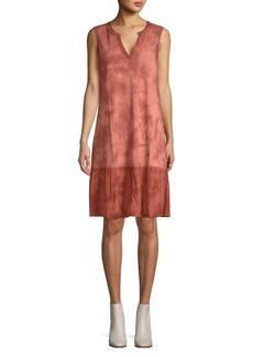 Democracy Tie-Dye Shift Dress