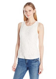Democracy Women's Crochet Popover Tank  S