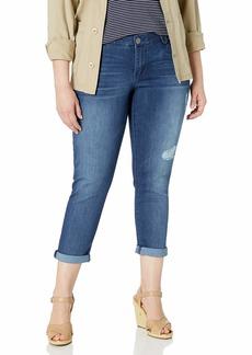 """Democracy womens Denim Crop """"Ab""""solution Crop Jeans   US"""