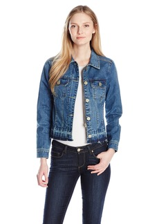 Democracy Women's Patch Pkt Denim Jacket  M