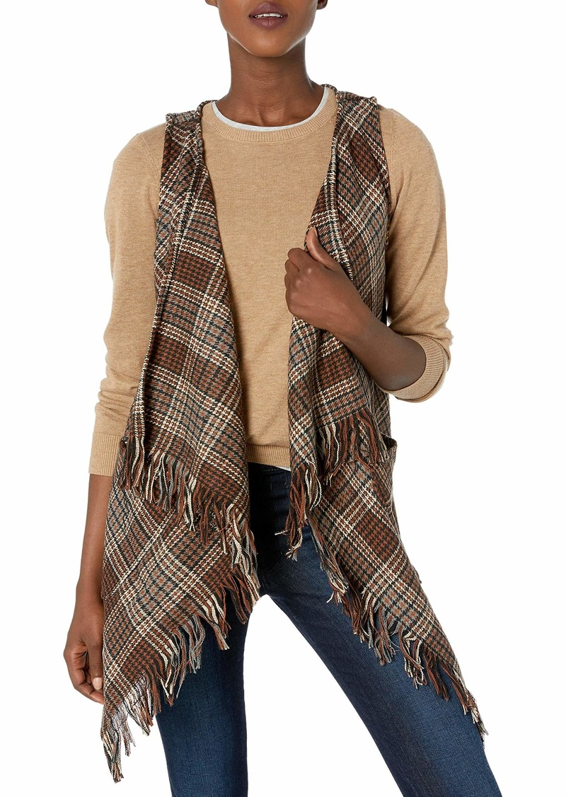 Democracy Women's Plaid Vest  S