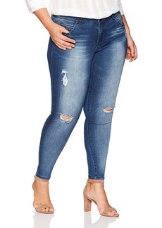 Democracy Women's Plus Size AB Solution Booty Lift Jegging