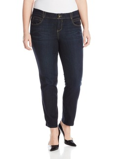 Democracy Women's Plus Size Ab Solution Booty Lift Jegging  W