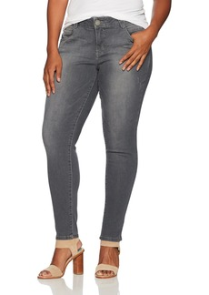 "Democracy Women's Plus-Size ""Ab""Solution Jegging  W"