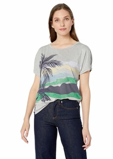 Democracy Women's Short Sleeve Screen Tee  M