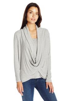Democracy Women's Emb Hoodie Vest  XL
