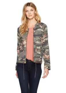 Democracy Women's Zip up Jacket W/Flap Pockets  M