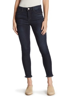 Democracy High Rise Frayed Skinny Jeans