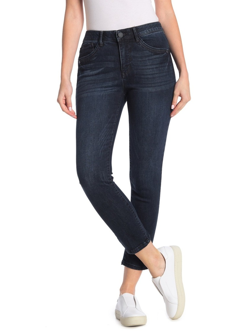 Democracy High Waisted Ankle Skinny Jeans