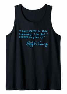 I have faith in this democracy... Elijah Cummings (blue) Tank Top