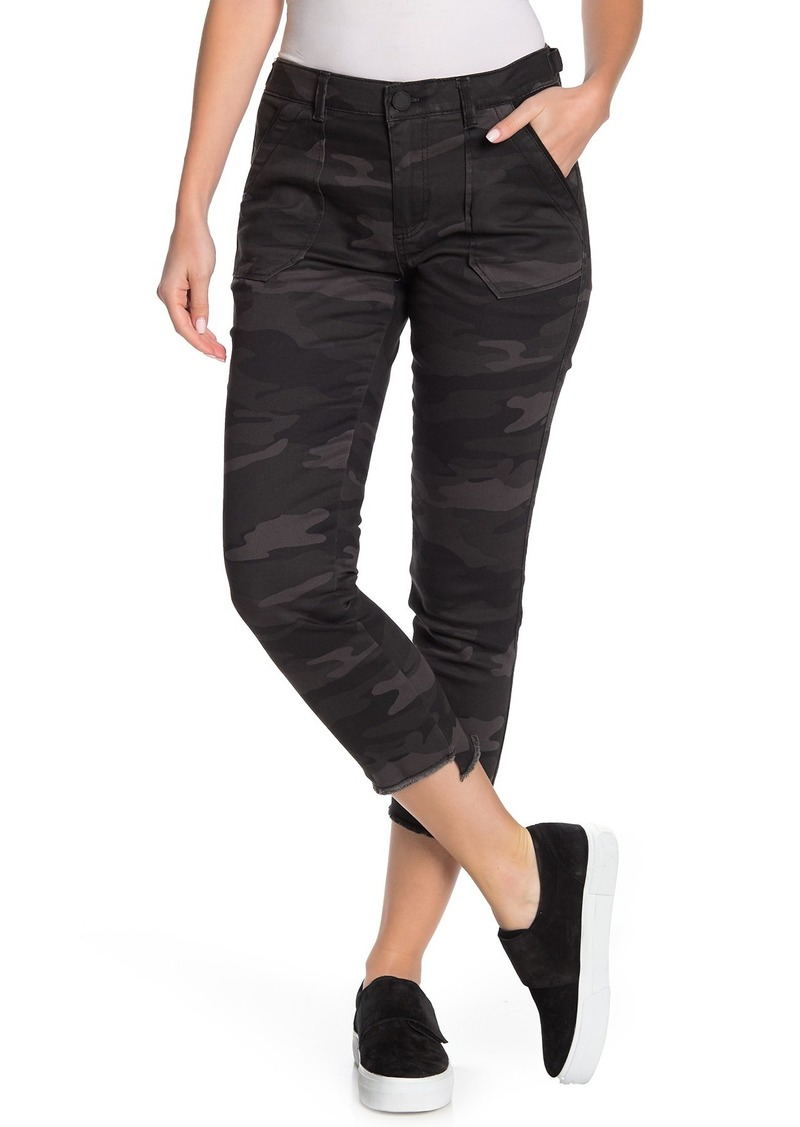 Democracy Tech Camo High Rise Cropped Skinny Jeans