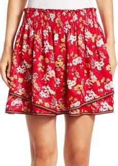Derek Lam 2-in-1 Floral Skirt
