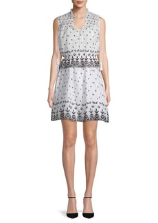 Derek Lam 2-in-1 Sleeveless Cotton Dress & Top