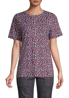 Derek Lam Abstract Floral Tee